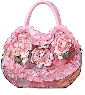 Cheerlife Vintage Damen Stickerei Blumen Handtasche Party Clutch Bag Abendtasche Stoffbeutel Geldbeutel