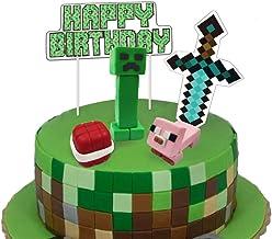 Amazon Com Minecraft Cake Toppers