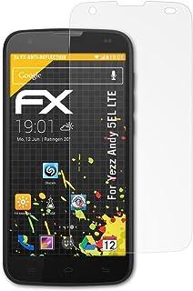 b171da1f23c atFoliX Protecteur d'écran pour Yezz Andy 5EL LTE Film Protection d'écran,