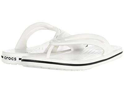 Crocs Crocband Flip (White) Women