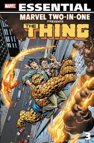 The Thing Essential Marvel Two in One Vol 3 product image