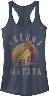 Women's Lion King Hakuna Matata Warrior Graphic Racerback Tank Top