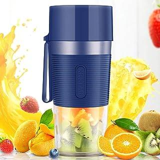 Hefacy Baibao - Mini mélangeur de fruits portable rechargeable par USB - Mixeur personnel pour glace pilée, jus de glace, ...
