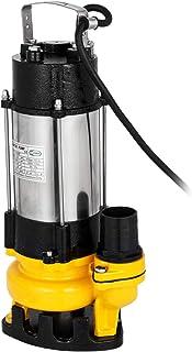 comprar comparacion Moracle VD-750F Bomba de Aguas Residuales 220V 1HP Bomba Sumergible Sucias Acero Inoxidable 6340GPH Flujo Máximo