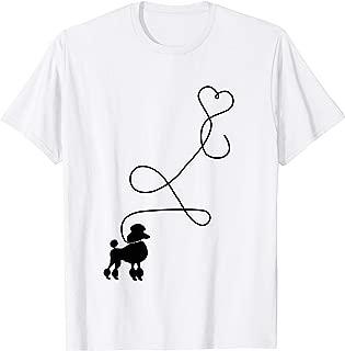 1950's Sock Hop Costume T-Shirt - Dog Cute Poodle Heart