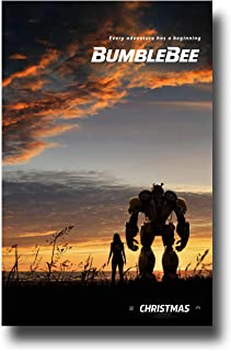 f9ea6ca85 Bumblebee Poster Movie Promo 11 x 17 inches Hailee Steinfeld Transformers  Sky