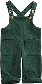green overalls baby