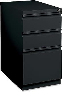 Lorell LLR49521 Mobile File Pedestal, Black