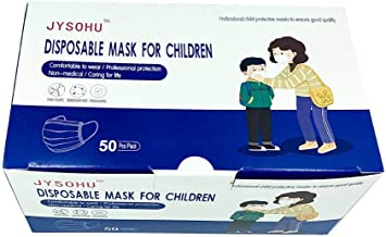 Jiayue KIDS Daily Mask Use Face Mask (Dinosaur Mask Print with Boy Box Design) 99% Filtration Efficiency rate (Non-Medical...