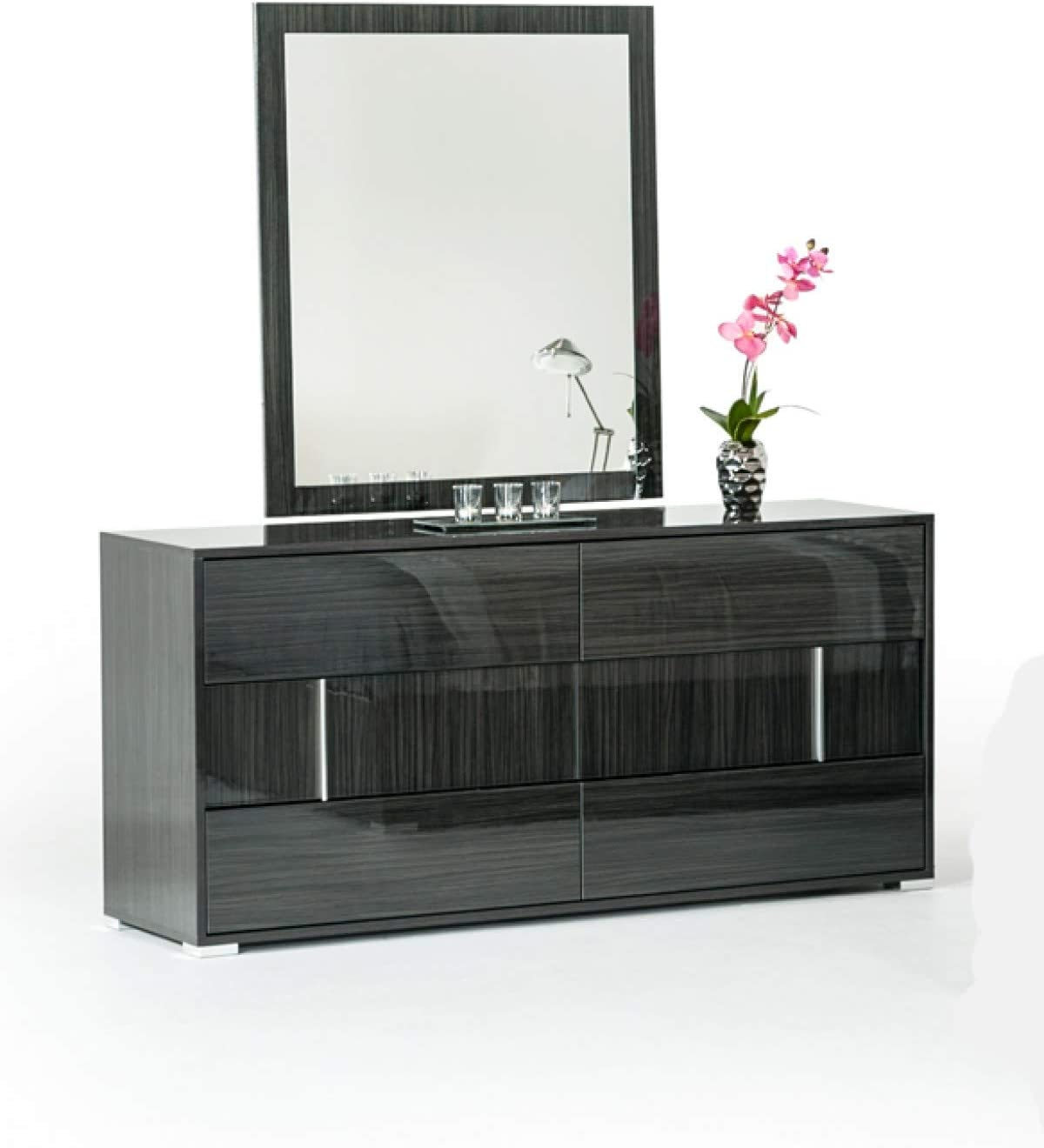 Limari Home Ory Grey Oklahoma City Mall Gray Discount mail order Normal Dresser