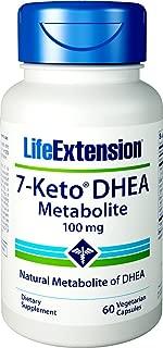 Life Extension 7-Keto DHEA Metabolite 100 mg, 60 Vegetarian Capsules