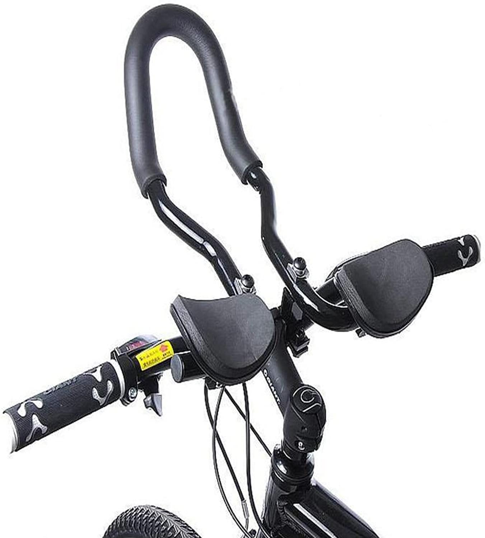 GigaMax(TM) Mountain Road MTB Bike Bicycle Aluminum Alloy Triathlon Aero Rest Bar Relaxation Cycling Handlebar