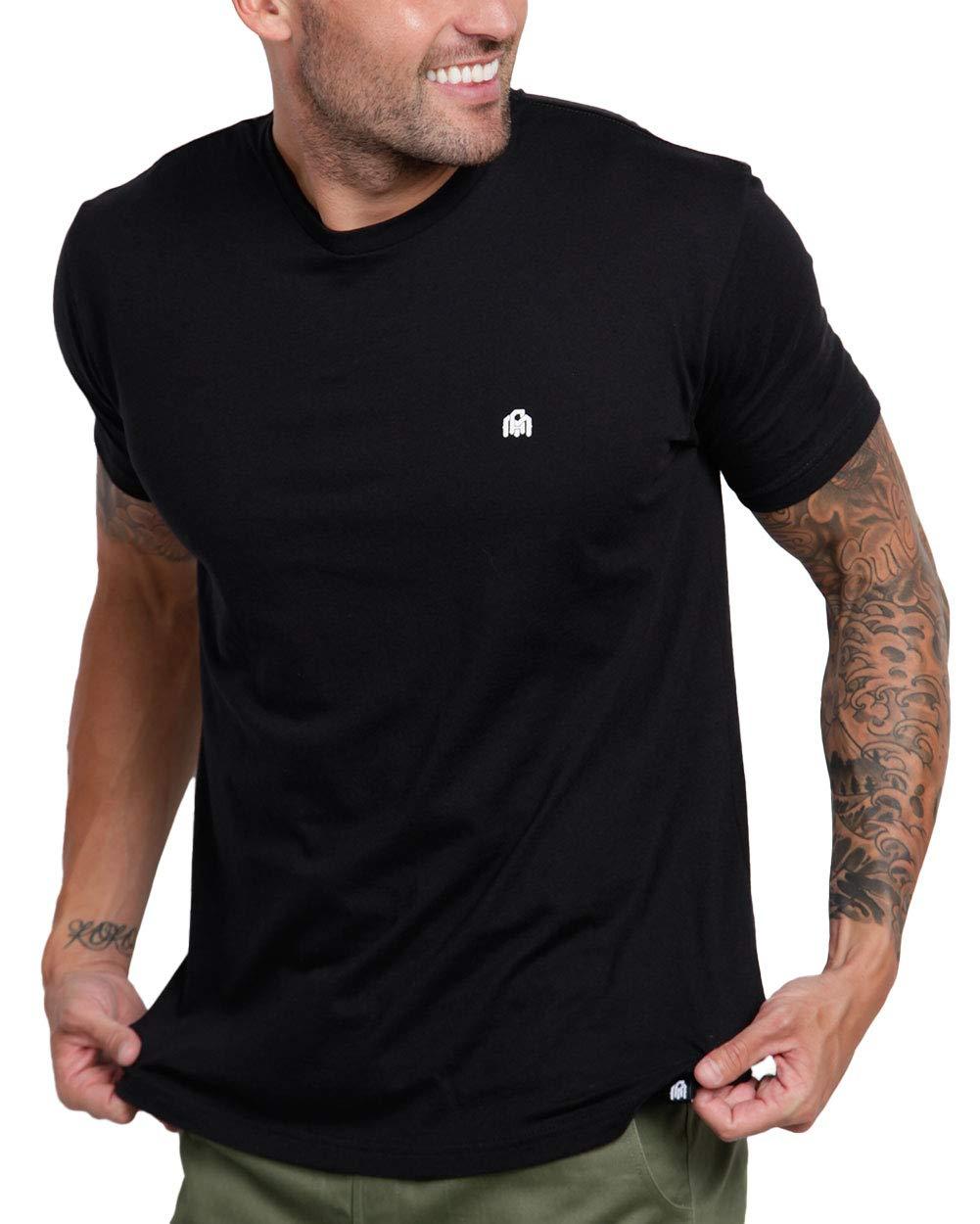 INTO THE AM Men's T-Shirts - Premium Short Sleeve Casual Crew Neck Tee Shirt