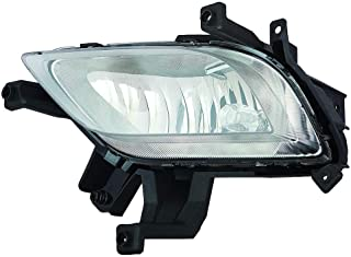CarLights360: Fits 2014 2015 2016 KIA FORTE Fog Light Assembly Driver Side w/Bulbs - (CAPA Certified) Replacement for KI2592133