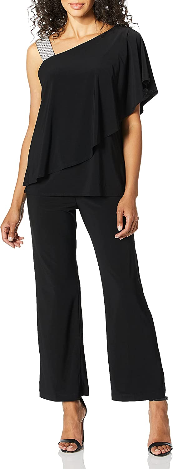 Nippon regular agency RM Richards Women's 2 PCE Petite At the price of surprise Pant Shoulder one Set