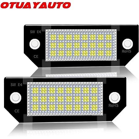 Led Kennzeichenbeleuchtung Otuayauto Kennzeichen Led Nummernschildbeleuchtung Für Focus C Max Auto
