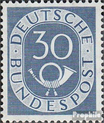 RFA (FR.Allemagne) 132 testés 1951 Horn (Timbres pour Les collectionneurs)