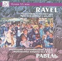 Valses nobles et sentimentales, piano concertos No. 1 and No. 2 / Fedotova, Chernushenko