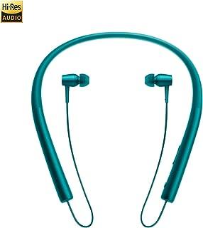 ソニー SONY ワイヤレスイヤホン h.ear in Wireless ハイレゾ対応 Bluetooth/LDAC/NFC対応 リモコン・マイク付き/ハンズフリー通話可能 ビリジアンブルー MDR-EX750BT (青) [並行輸入品]
