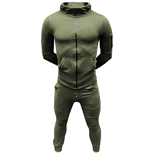 f56c0519 SA Fashions Mens Training Tracksuit Corduroy Hoodie Joggers Gym Suit Top  Bottom Patch Panel Cotton Full