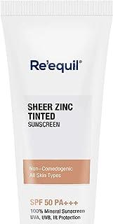 Sheer Zinc Tinted Sunscreen 50g SPF 50 PA+++ - 100% Mineral Sunscreen