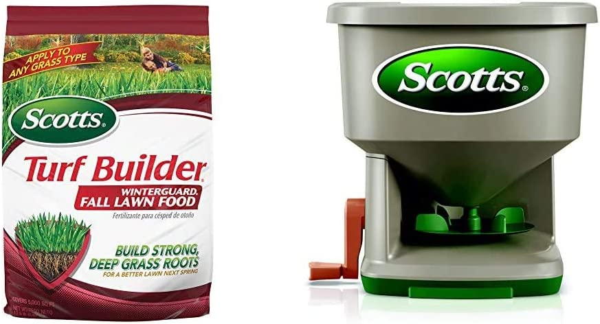 Scotts Turf Builder WinterGuard Fall Lawn Food 大注目 12.5 - 売れ筋ランキング lb.