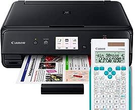 CANON PIXMA TS5050 Negro Impresora MULTIFUNCIÓN INALÁMBRICA Avanzada + CALCULADORA