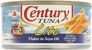 Century Tuna Flakes In Veg Oil Lite - 180 gm