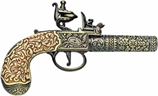 Denix Colonial Replica 18th Century Ornate Non Firing Gun Flintlock Pistol