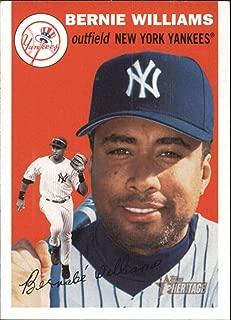 2003 Topps Heritage #317 Bernie Williams Yankees MLB Baseball Card NM-MT