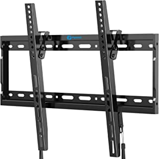 Tilt TV Wall Mount Bracket for Most 26-55 Inch LED LCD OLED Plasma Flat Curved Screen TVs with Max VESA 400x400mm, Low Pro...
