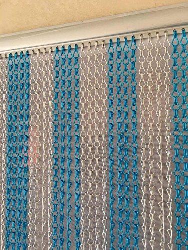 Liveinu Moustiquaire de Porte Ou Fenetre Magnetique Rideau Moustiquaire De Porte Avec Aimants 60x120cm Jaune