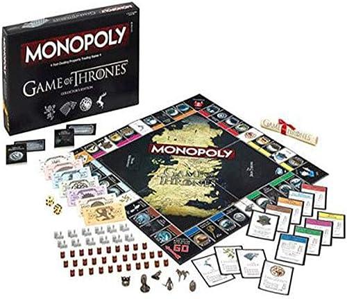 Angle Monopol im Spiel der Würfel Macht Monopol Schachbrett Luxus-Version des Spielsets enth  Accessoires Elemente Party Brettspiel-Spielzeug