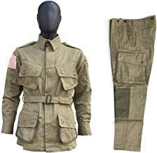 US Army M42 Type Jump Suit Replica WW2 Us Army M42 Outdoors Suit Airborne Paratrooper Uniform