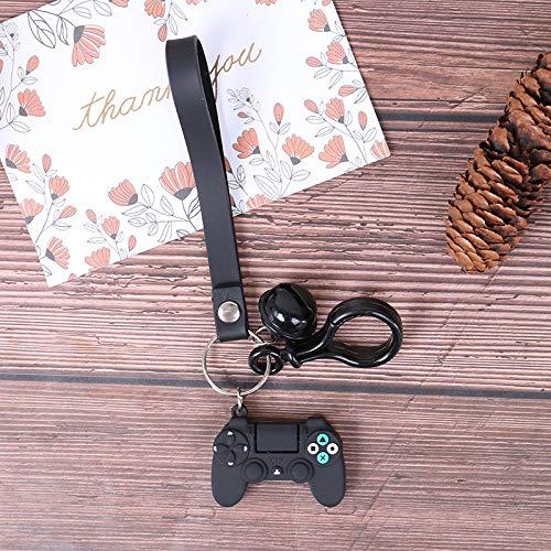 Portachiavi macchina da gioco e portachiavi Cute Gamepad Boyfriend Joystick Portachiavi PS4 Game Console Portachiavi Bag Car Hanging Key Ring