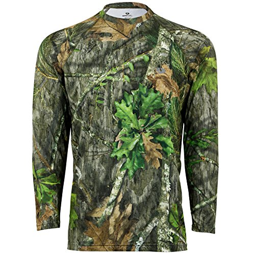 Mossy Oak Men's Standard Camo Shirts, Hunting Clothes, Obsession, Large