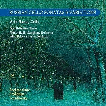 Russian Cello Sonatas & Variations
