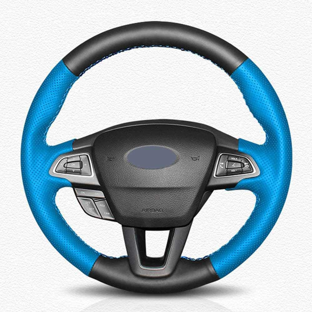 LYSHUI Leather Car Steering Wheel Cover Focus Popular overseas Ford 3 Max 63% OFF Fit 20 for