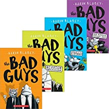 The Bad Guys - 4 Book Set - (1) The Bad Guys: Episode 1, (2) The Bad Guys in Mission Unpluckable, (3) The Bad Guys in The Furball Strikes Back - (4) The Bad Guys in the Attack of the Zittens