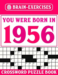 Crossword Book 1956: Challenging Crossword Puzzles For Adults