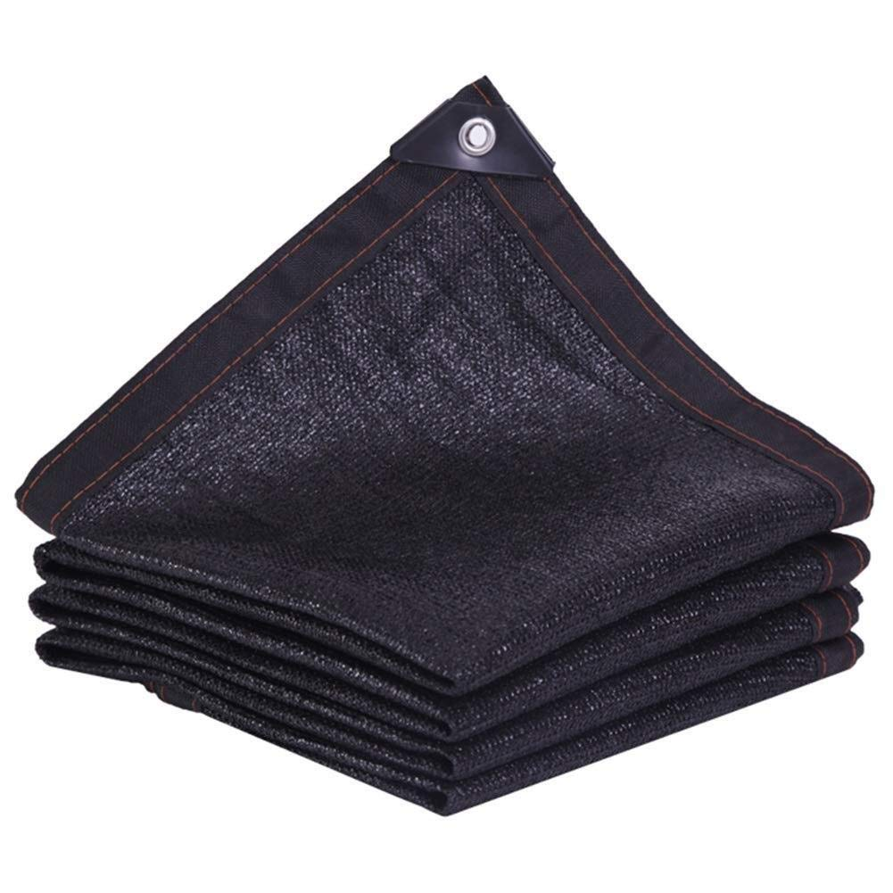 OUPAI Bloqueador Solar de Malla 85% Black Sunblock Shade Cloth aped Edge Grommets for Garden Flower Plant, Greenhouse, Barn Kennel, Pergola Cover Canopy con ojales (Color : Black): Amazon.es: Coche y moto