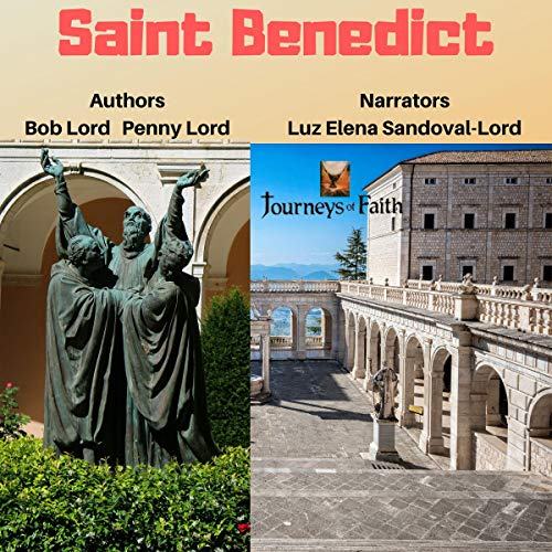 Saint Benedict audiobook cover art