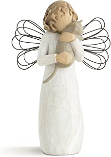 Willow Tree Hand Painted Sculpted Angel With Affection