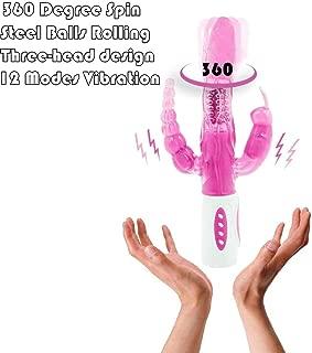 Bedroom Kandi Toys 12 Modes Vibration 360 Rotations Women Beads Funny Woman Product