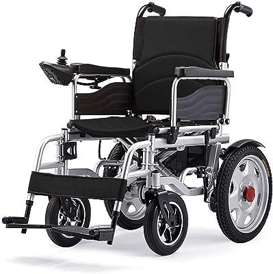 Amazon.com: YX Xuan Yuan Silla de ruedas eléctrica, silla de ...