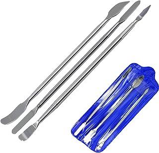 ヘラセット 金属ヘラ ヘラ工具 ヘラツール パソコン スマホ 分解 解体 交換 細工棒 両頭型 3本セット