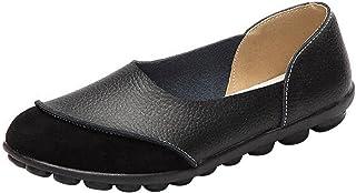 Dear Time Women Slip On Soft PU Low Top Flat Shoes