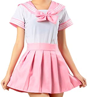 School Uniform Dress Cosplay Costume Japan Anime Girl Lady Lolita