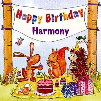Happy Birthday Harmony