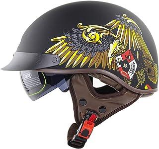 Suchergebnis Auf Für Halbhelme Xxl Halbhelme Helme Auto Motorrad